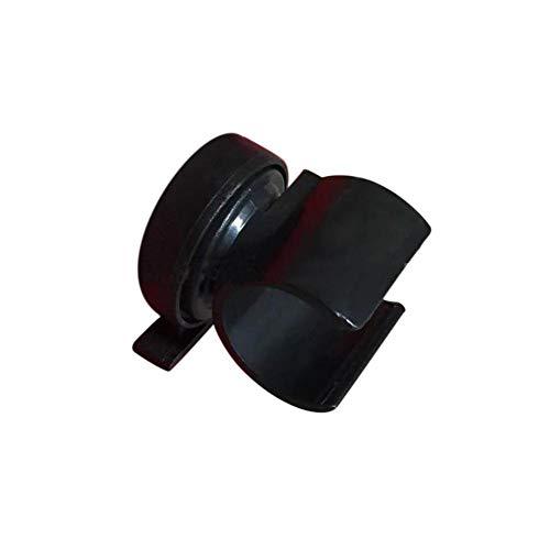 ADHG Soporte para Casco Soporte de Linterna de plástico portátil Stents para Linterna Soporte para Casco de Escalada al Aire Libre Accesorios para Casco