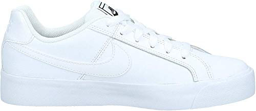 Nike Damen Court Royale AC Tennisschuhe, Weiß (White/Black 102), 36.5 EU