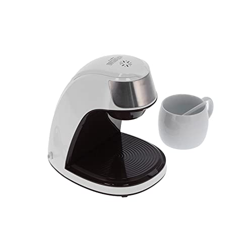 Macchina da caffè, macchina da caffè automatica intelligente 450W per caffetteria per cucina domestica(rosa)
