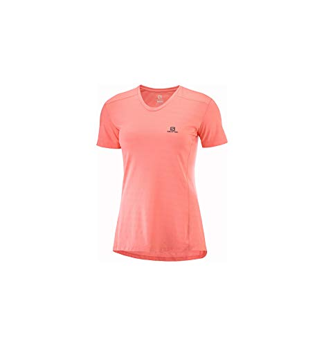 SALOMON XA tee Camiseta, Mujer, Rosa (Desert...