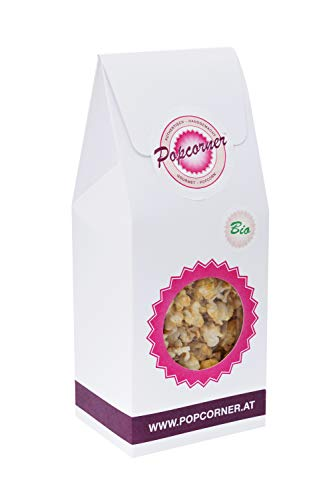 Popcorner Apfelstrudel Organic Sweet Popcorn - 80g - Gesundes Bio Popcorn Süß mit Herrlichem Zimtaroma