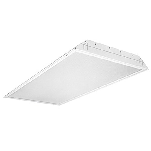 Lithonia Lighting GT2U MV 2-Light Fluorescent General Purpose Troffer, 2-Feet, White