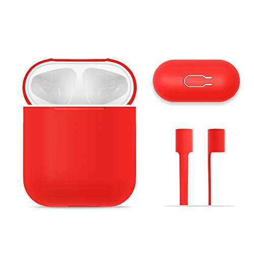 AirPods Case Protective, FRTMA Silicone Skin Case with Sport