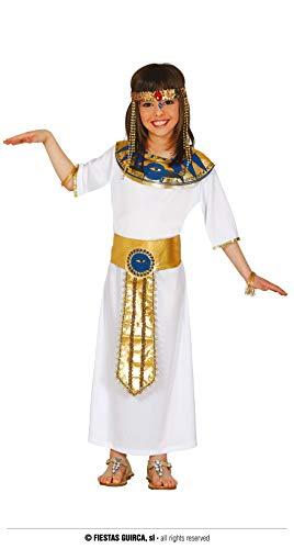 Guirca-83382 Disfraz 5-6 años Cleopatra Egipcia, Multicolor (83382)