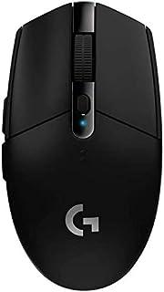 Logitech G305 Lightspeed Wireless Gaming Mouse, HERO Sensor, 12,000 DPI, Lightweight, 6 Programmable Buttons, 250h Battery...