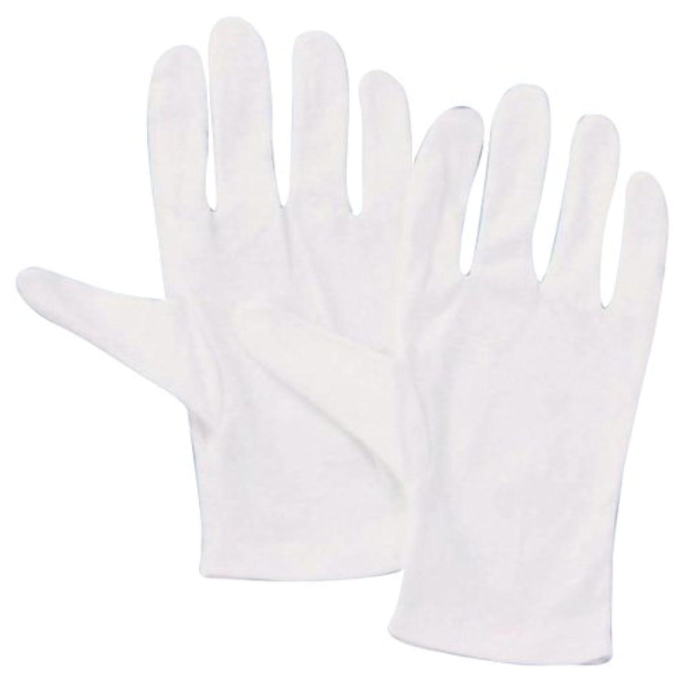 レーザチャートクレーターウイングエース フィット手袋 綿スムス手袋(マチ無) ×10双 No.5008 L