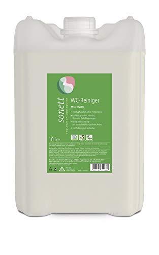 Sonett Bio WC-Reiniger Minze-Myrthe (2 x 10 l)