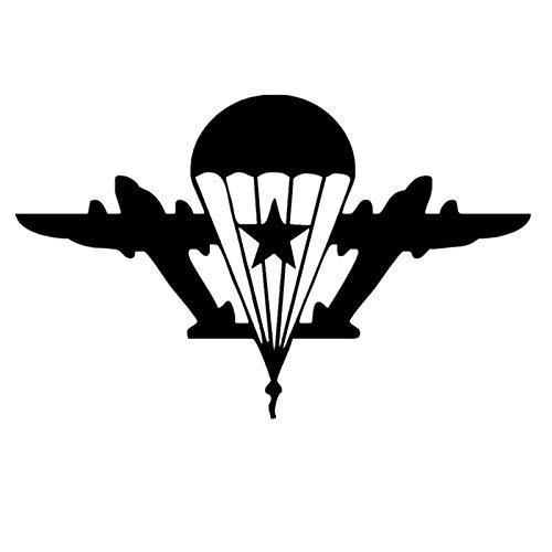 JXFM leger fan militair auto sticker lucht militair auto sticker auto persoonlijke reflecterende sticker 15 * 9,5 cm