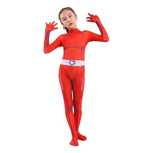 Totally Spies Cosplay Costume adulte enfants Zentai body héros combinaisons Cosplay Halloween enfants garçon fille Costume de fête