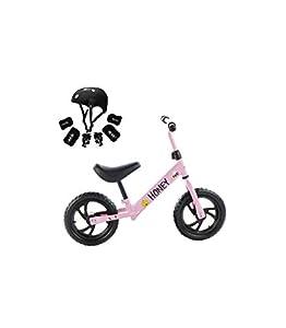 Grupo K-2 Riscko - Bicicleta sin Pedales con sillín Y Manillar Regulables | Ultraligera | Correpasillos Minibike | Bicicleta para Niños de 2 a 5 años Honey | Rosa