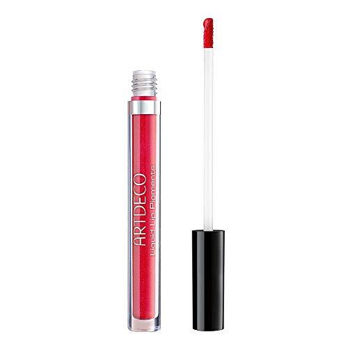 ARTDECO Liquid Lip Pigments, Langhaftende Lippenfarbe metallic, Nr. 2, galactic love