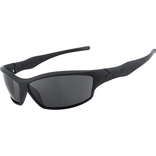 HELLY® - No.1 Bikereyes® | Bikerbrille, Motorradbrille, Motorrad Sonnenbrille | HIGHLIGHT: beschlagfrei, winddicht, bruchsicher | TOP Tragegefühl bei langen Ausfahrten | Brille: fender 2.0