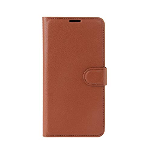 Phone case Lmy for Leagoo M8 Pro Litchi Texture Horizontal Flip Leather Case with Holder & Card Slots & Wallet (Black) (Color : Brown)