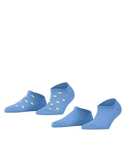 ESPRIT Damen Mesh Dot W SN Hausschuh-Socken, Blau (Morning Sky 6546), 39-42
