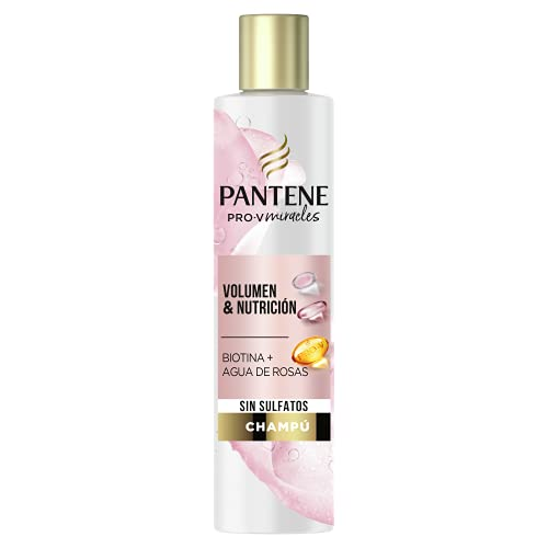 Pantene Pro-V Miracles Shampooing Rose Volume et Nutrition 225 ml