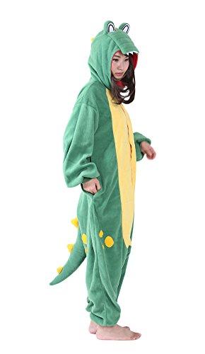 TYLER PERRY Adult Onesie Green Crocodile Pajamas...
