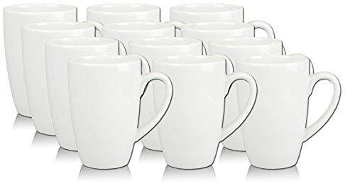 12 Porzellantassen Becher Kindertassen Miriam Weiss 25cl - EU Porzellan