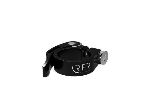 Cube RFR Sattelklemme mit Schnellspanner schwarz 31.8mm / 34.9mm: Größe: 31.8mm