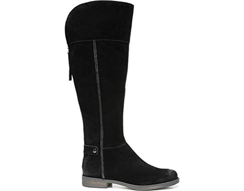 Franco Sarto Women's L-Christin Wc Riding Boot Black,5.5