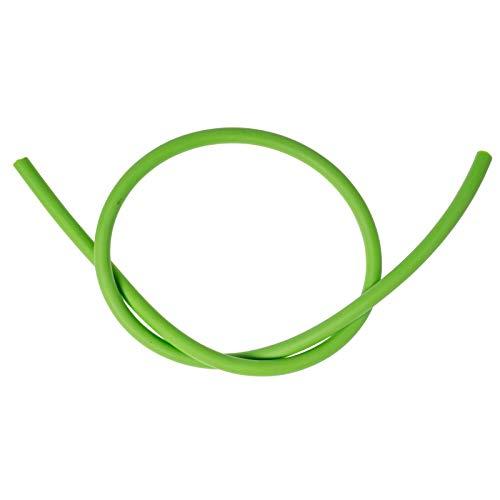 Zeck Treble Hook Tube grün 50cm - Gummischlauch für Wallermontagen, Knotenschützer für Drillingshaken, Hakenschützer, Rigtube,