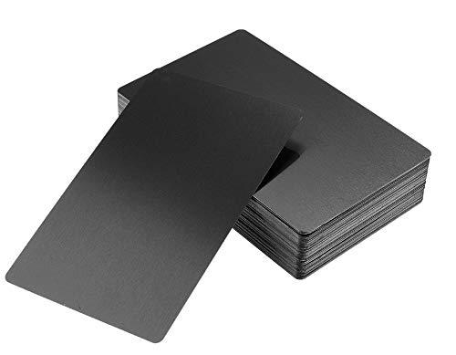 DEWIN Tarjetas de Visita Aluminio - Impresora de Tarjetas de Visita Papel Impresora para Tarjetas Publicidad para rendirse en el Primer Encuentro (Negro)