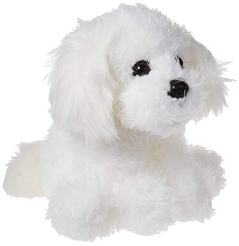 GUND Georgette Shaggy White Dog Plush, 10
