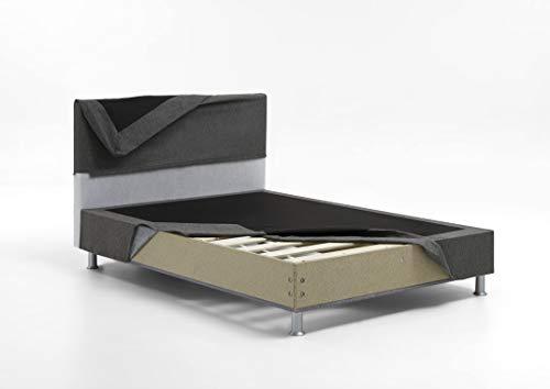 Edison Boxspringbett Lifestyle im Schlafzimmer Bild 2*