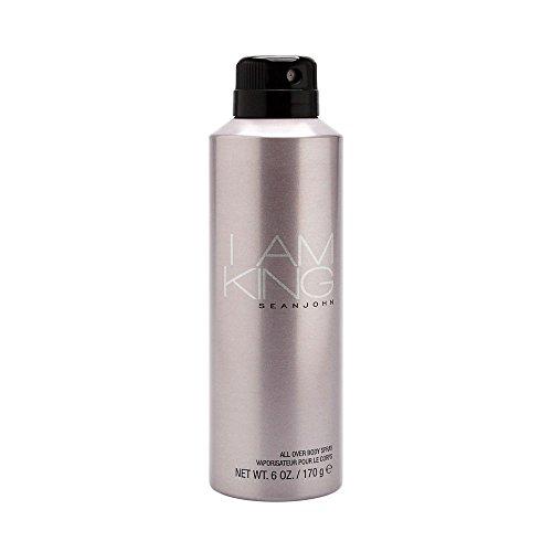 Sean John I Am King Body Spray for Men, 6 Ounce