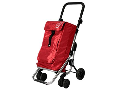 Playmarket Go Up Basic Koffer, 110 cm, 39.5 liters, Rot (Charme)