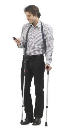 activera Krückenband Halteband für Gehhilfen und Krücken blau