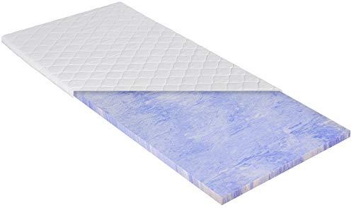 PHD Primera Gel-Schaum Topper 180 x 200 cm als weiche Auflage für Boxspringbetten oder als Komfort-Auflage für Feste Matratzen. Klimaregulierend, langlebig und mit waschbarem Bezug. Made in Germany