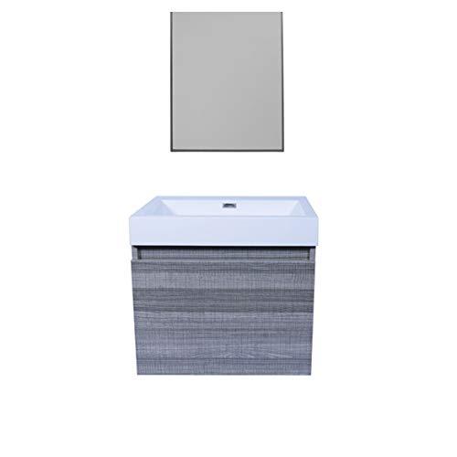 Tecnobath Mueble para baño con Lavabo MBA 600 A