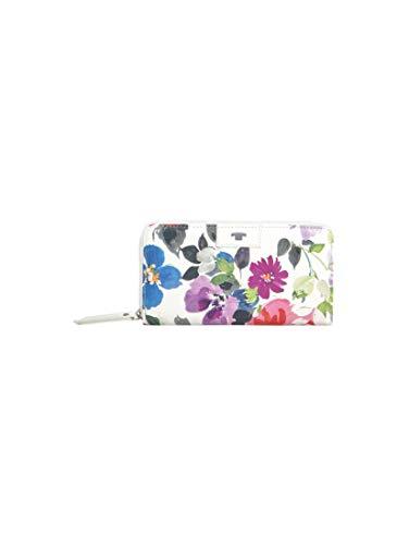 TOM TAILOR Damen Taschen & Geldbörsen Portemonnaie MIRI RIVIERA flower white,OneSize