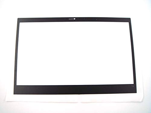 Piezas originales para Lenovo ThinkPad T14 Gen 1 14 'LCD frontal bisel hoja cubierta para cámara estándar agujero (no para cámara IR) 5M21B85166