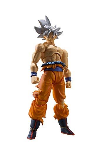 Tamashii Nations Figura Son Goku Ultra Instinct, 14 cm. Dragon Ball Z Bandai Figuarts S.H