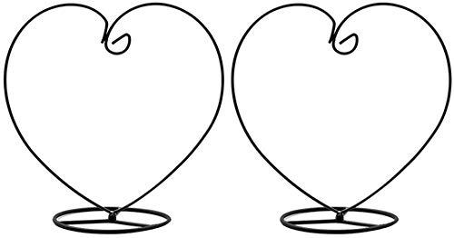 2 Stücke Ornament Ständer Herz Form Pflanze Glas Container für Weihnachten Dekorationen und Home Hochzeit Dekoration