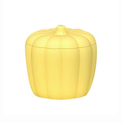 GZQDX 1 molde de cubo de hielo de silicona con forma de calabaza para hacer cubitos de hielo herramientas con tapa whisky vino cóctel fiesta barware DIY molde