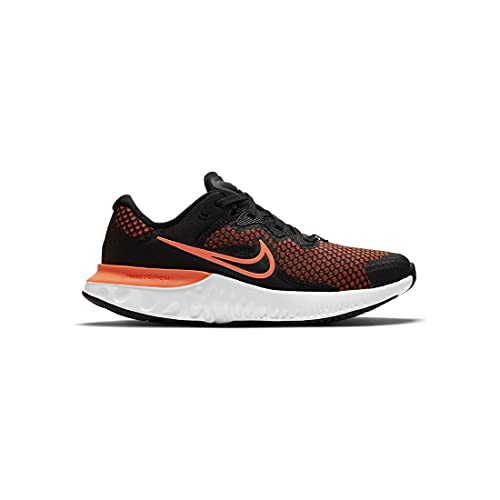 Nike Renew Run 2, Scarpe da Ginnastica, Black/lt Lemon Twist-Lilac-White, 37.5 EU