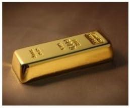 Cool Gold bar 16 GB unisex USB New mail order Drive - Flash