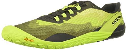 Merrell Vapor Glove 4, Zapatillas Deportivas para Interior para Hombre, Multicolor (Lime Punch), 46 EU