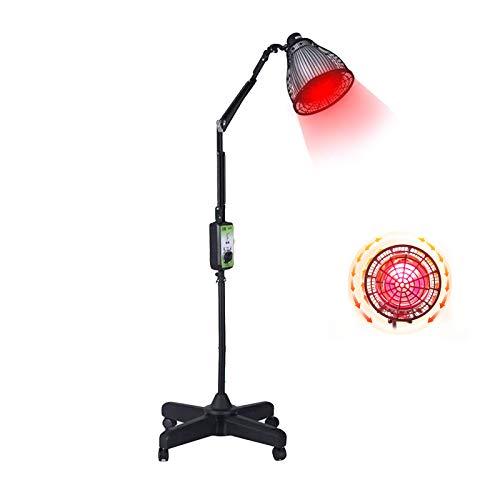 AOO Dispositivo de Terapia de luz roja, Masaje Lámpara de Calentamiento Artritis Músculo Dolor de Alivio Physiothe, con Control Remoto, para apretar la Piel Belleza de eliminación de acné