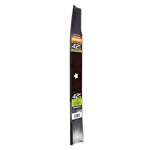 MaxPower 331729B Heavy Duty Blade for 42 Inch Cut Poulan/Husqvarna/Craftsman 134149, 532134149