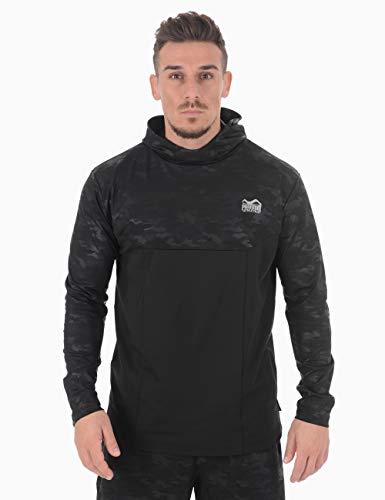 Phantom Hoodie Shadow | Trainingssweater für Sport, Fitness, Workout Training | Lockerer Performance Schnitt mit Camo Print
