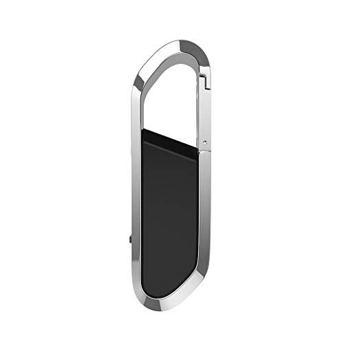 ZKT USB Flash Drive 32GB 16GB 8GB 4GB Pen Drive Pendrive Hanging Buckle Memory Card Stick Drives for PC/Laptop/External Storage Data,Black,32G