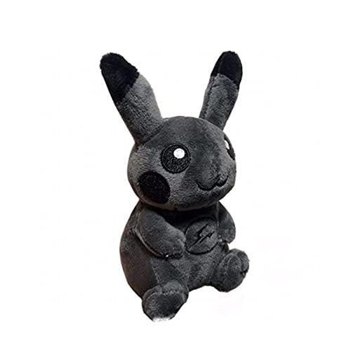 Peluche Black Eevee Pikachu Mew Pokemon Plush Pendant Dark Elf Doll Stuffed Toy Bag Decorations Keychain