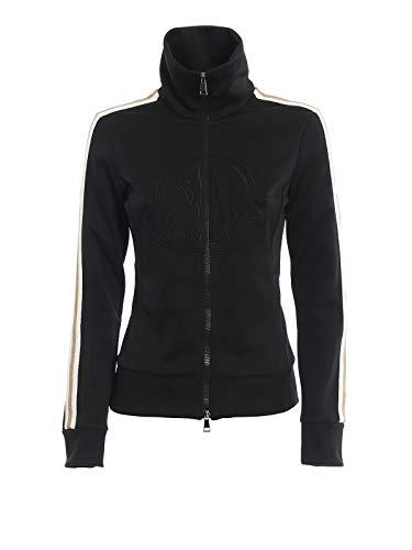 Moncler Luxury Fashion Damen 8460700V8041999 Schwarz Baumwolle Sweatshirt | Herbst Winter 19