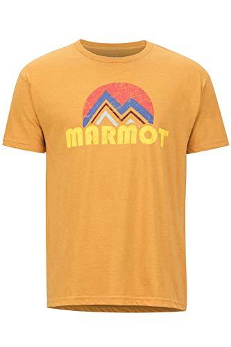 Marmot | Camiseta Secado rápido, Transpirable, Hombre. Hecha de Materiales Reciclados