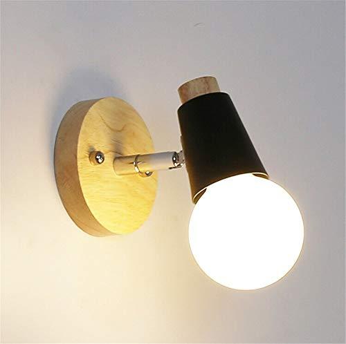 YLCJ Wandleuchte Nordic Wandleuchte kreative Nachttischlampe Badspiegelleuchte für Hotel Haus (Farbe: B-110V)