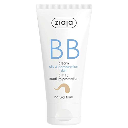 Ziaja Bb Cream Pieles Grasas y Mixtas Spf15 Tono Natural 50 ml