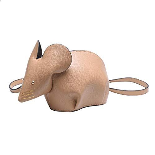 Pun Kleine Maus-förmige Damen-Umhängetasche, Tier-Umhängetasche, Messenger-Tasche für Mädchen,...